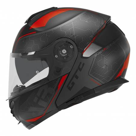 PRILBA D-SKWAL SAM LOWES BLACK/ORANGE  shark